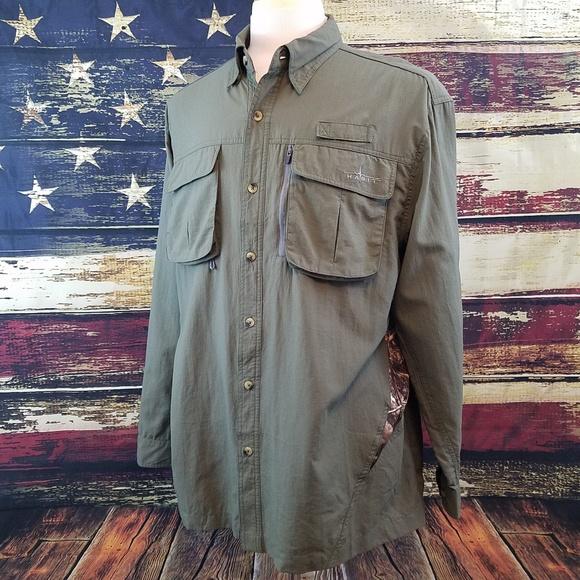 a3196446 Habit Shirts | Vented Long Sleeve Button Up Fishing Shirt | Poshmark